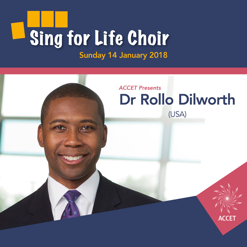 Choral Conductors Sing for Life Choir