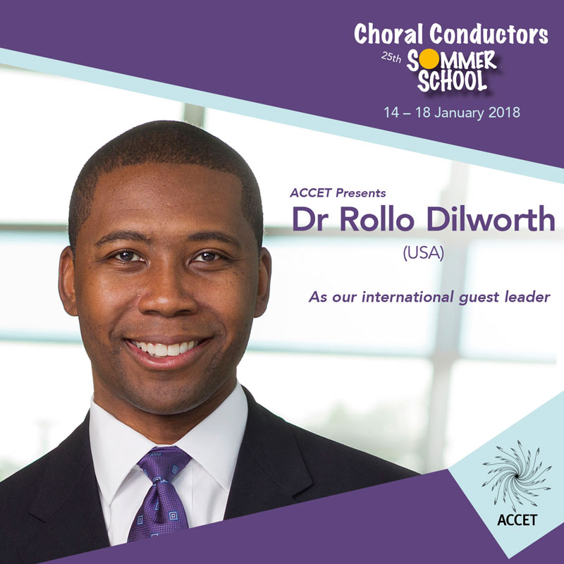 Sing for Life Choral Conductors Masterclass Rollo Dilworth